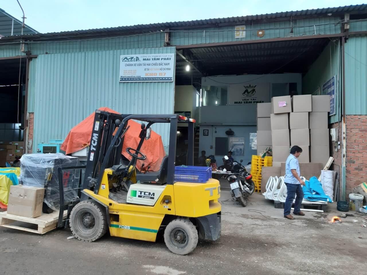 Mai Tâm Phát – Dịch vụ chành xe chuyển hàng gửi đi Hà Nội giá rẻ, uy tín, chất lượng nhất hiện nay