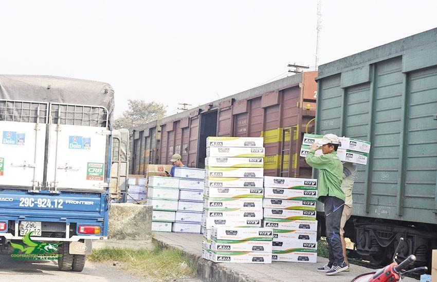 Vận tải kết hợp đường bộ với đường sắt