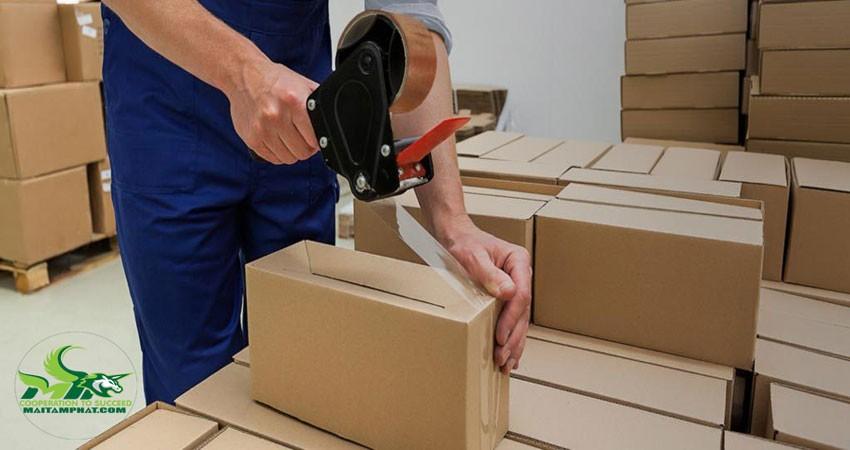 Gói các sản phẩm theo từng túi, hộp đơn lẻ
