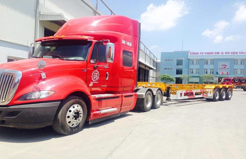 Xe container chở hàng là gì?