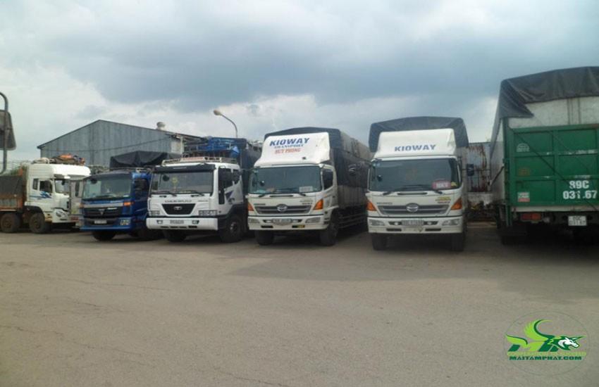 Nhận vận chuyển nhiều loại hàng hóa khác nhau