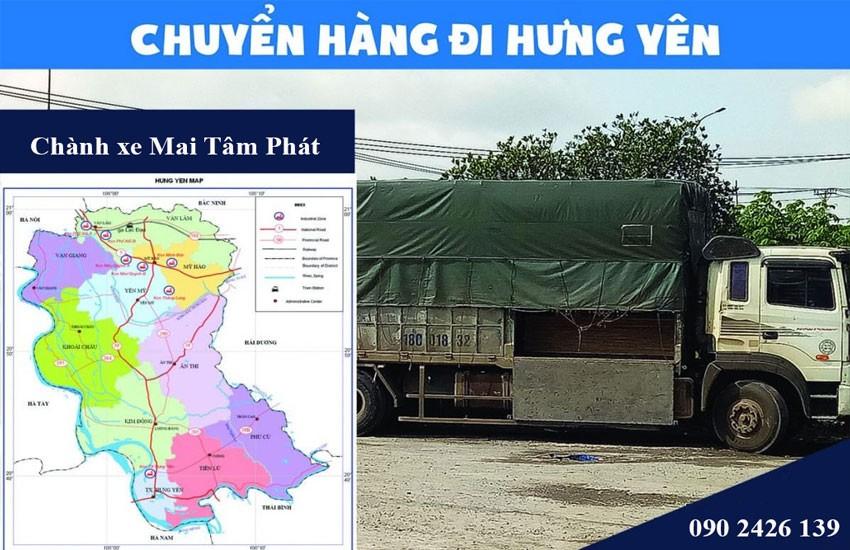 Chành xe Hưng Yên – Dịch vụ vận tải hàng hóa đi Hưng Yên tốt nhất hiện nay