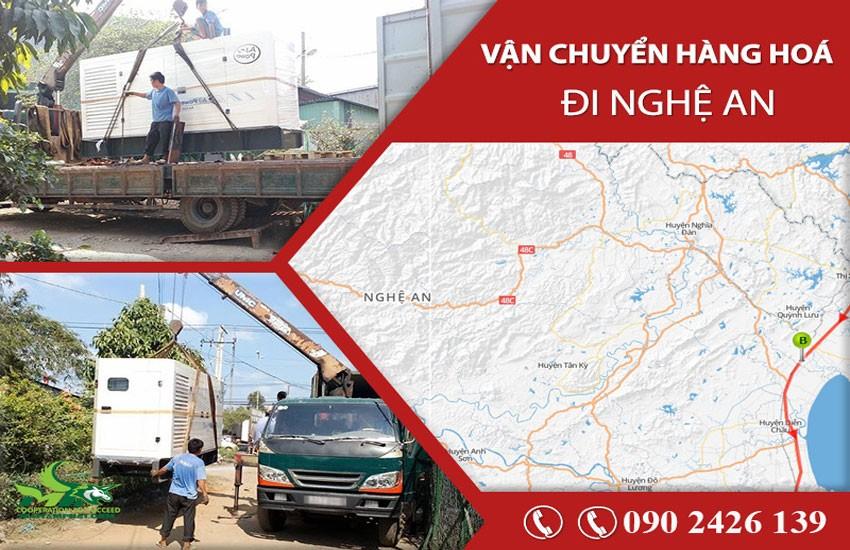 Dịch vụ vận tải hàng hóa chành xe Nghệ An tốt nhất hiện nay