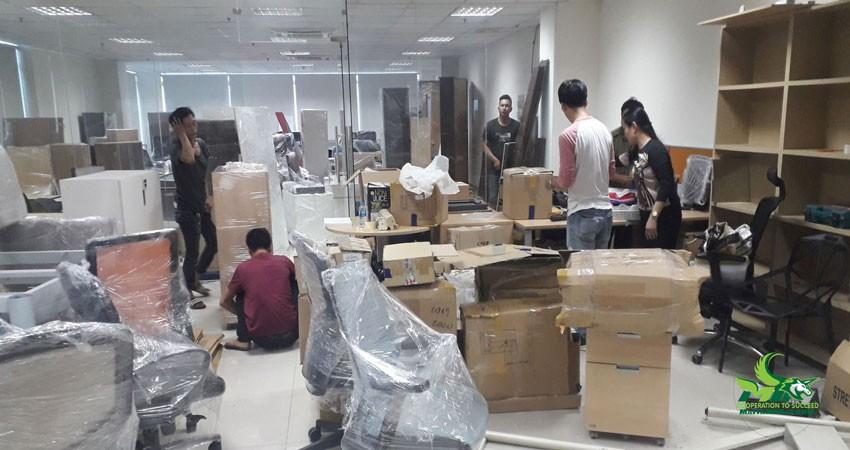 Chuyển văn phòng Hà Nội trọn gói giá rẻ của Mai Tâm Phát