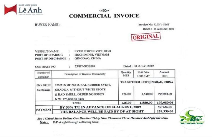 """Hóa đơn thương mại dùng để """"đòi"""" tiền người mua"""