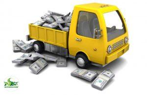 Cước phí vận chuyển được tính theo khối lượng và quãng đường di chuyển
