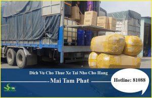 Mai Tâm Phát- Đơn vị vận chuyển hàng hóa bằng xe tải uy tín, chất lượng