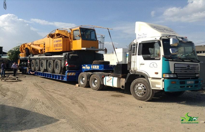 Dịch vụ vận chuyển máy công trình uy tín, an toàn, chuyên nghiệp nhất hiện nay