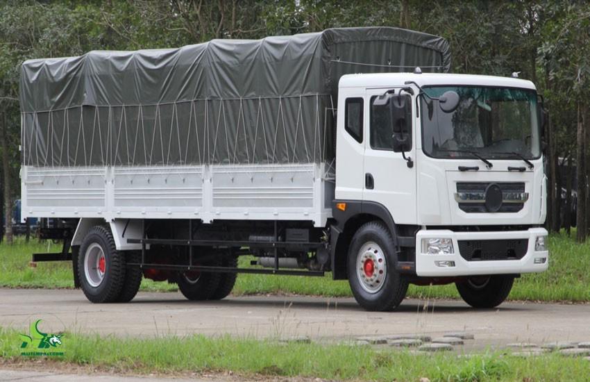 Xe tải thùng 6m thùng kín mui bạt
